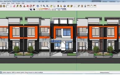 kursus Sketchup 3D Modeling