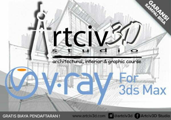 Kursus vray 3ds max, Private vray 3ds max, Training vray 3ds max